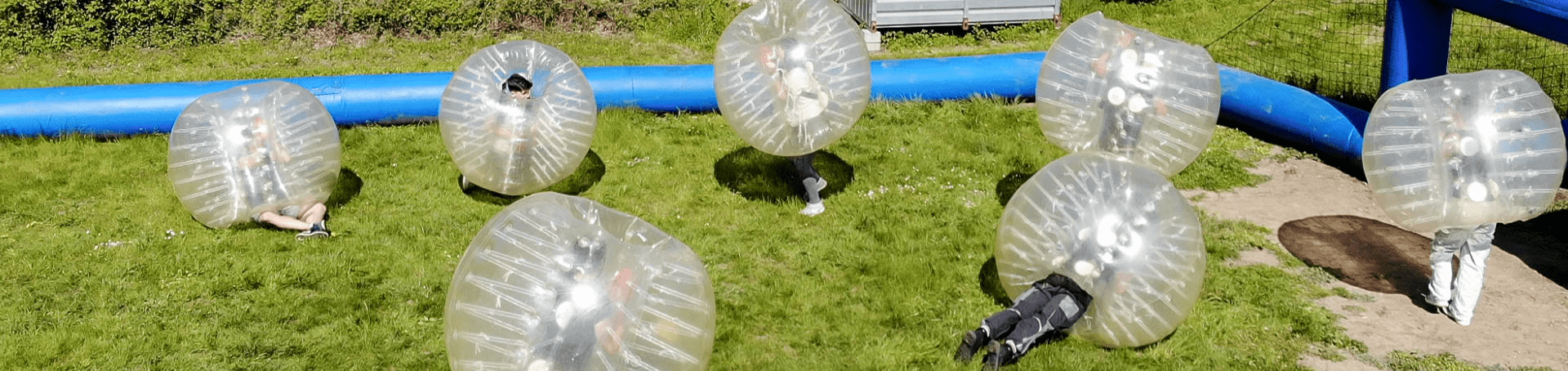 Bubbleball bei der Basis51 in Achern spielen