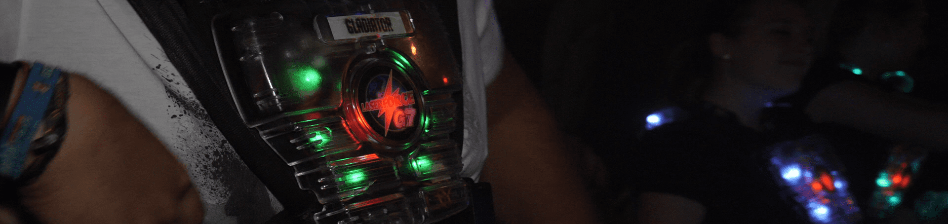Die Lasertagausrüstung