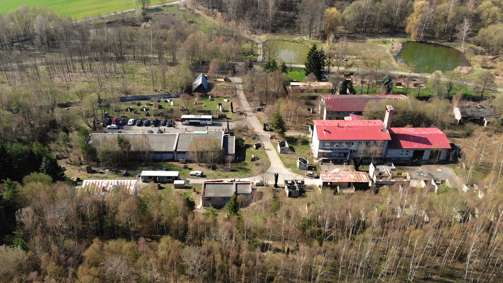 Die Paintball Arena in Cheb