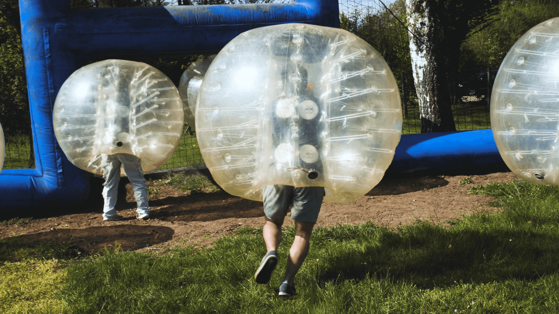 Bubbleball in der Basis51