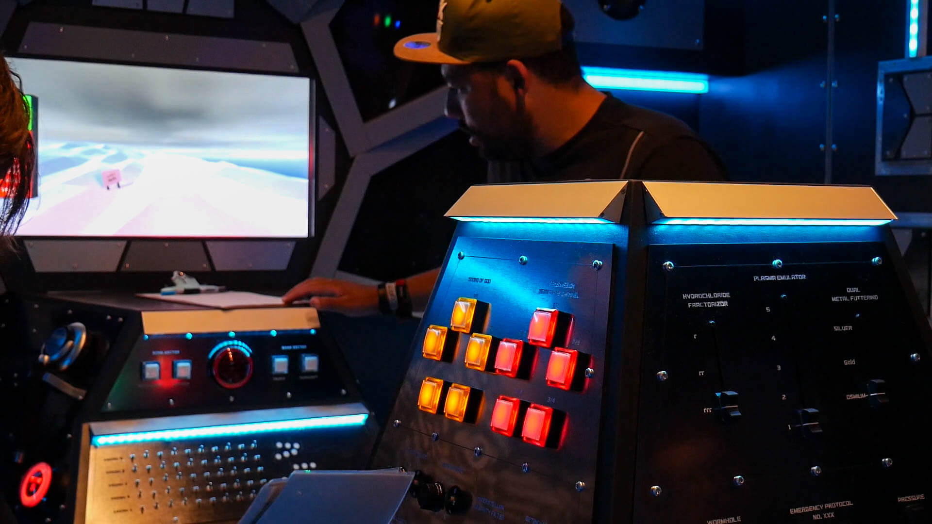 Der Space Escape Room im Exit Games Ulm