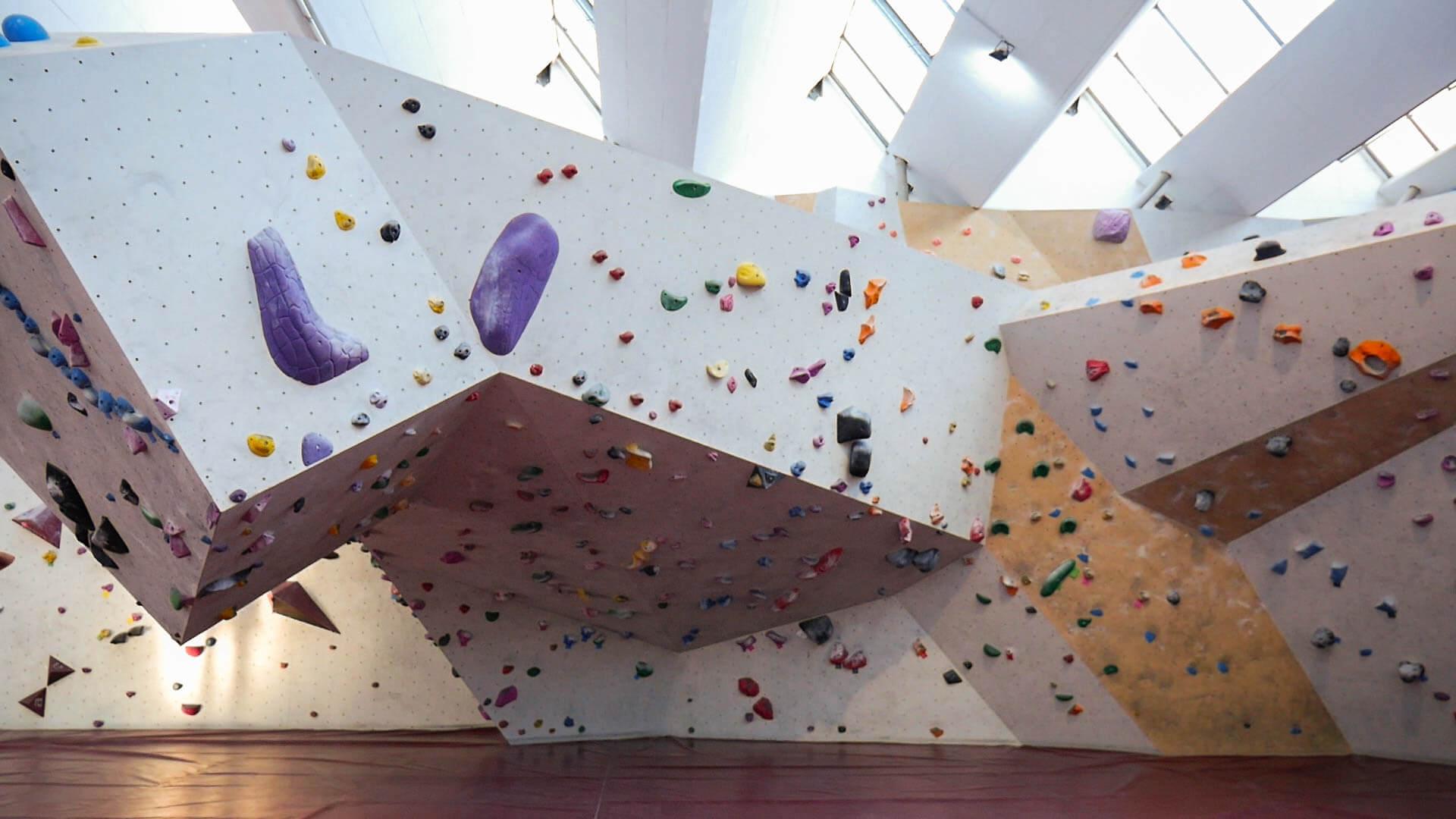 Die Boulderhalle Steinzeit in Eislingen
