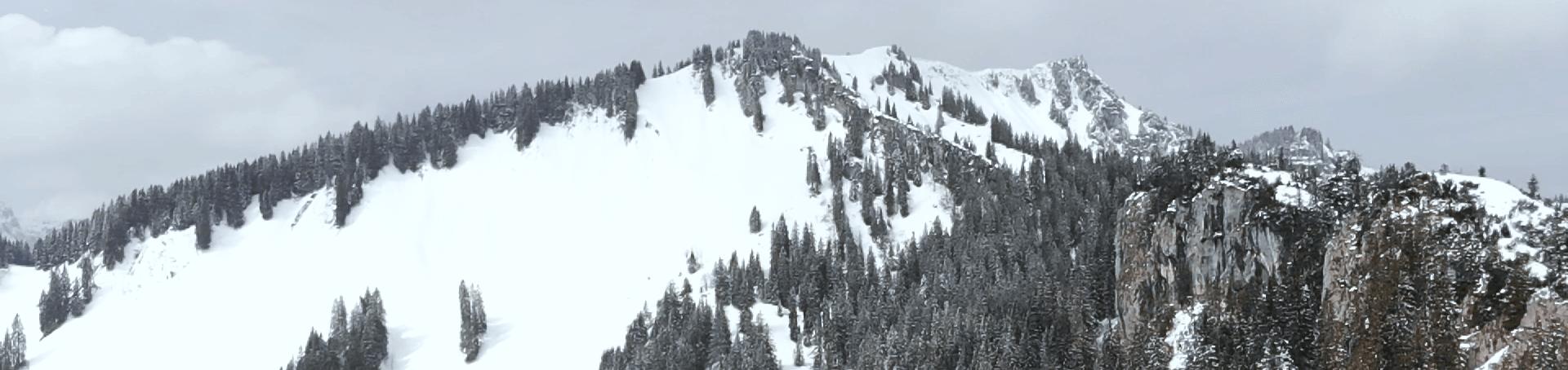 Die Umliegende Berge, die man bei der Bergwanderung zur Brecherspitz sehen kann