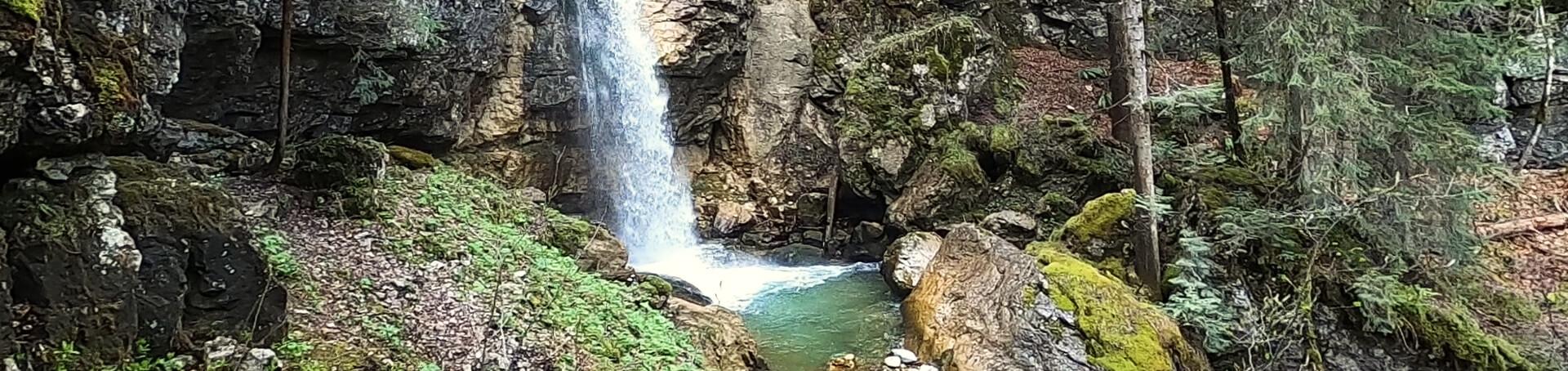 Der Sibli Wasserfall